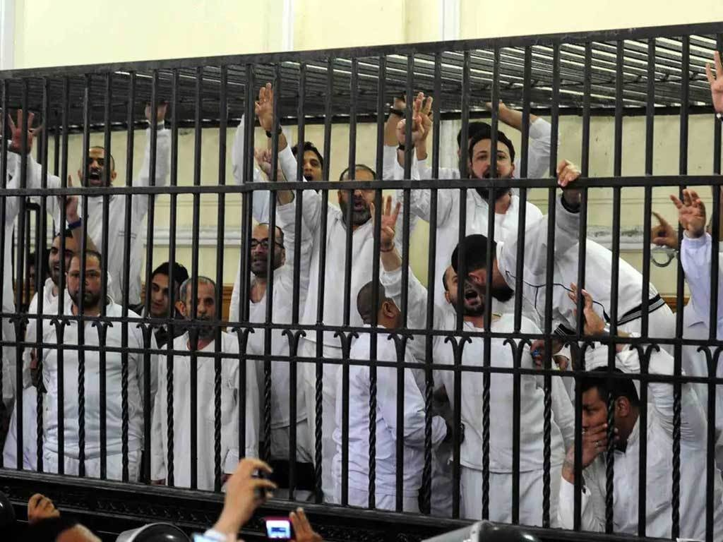 Egypt Upholds Death Penalty For 12 Brotherhood Members