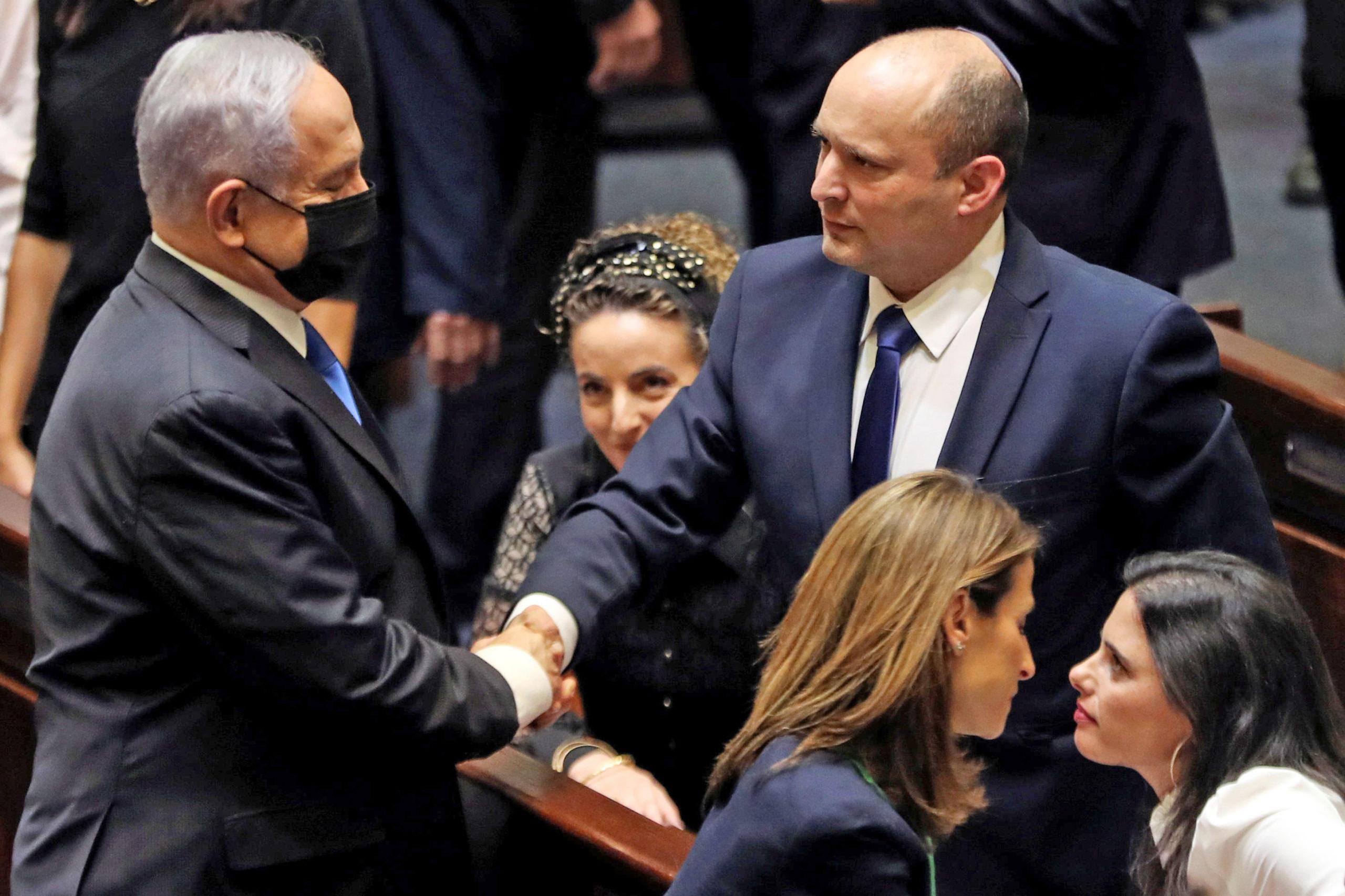 End Of An Era Netanyahu Out, Bennett In Israel