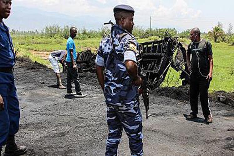 Gunmen Kill 15, Raze Minibuses In Burundi