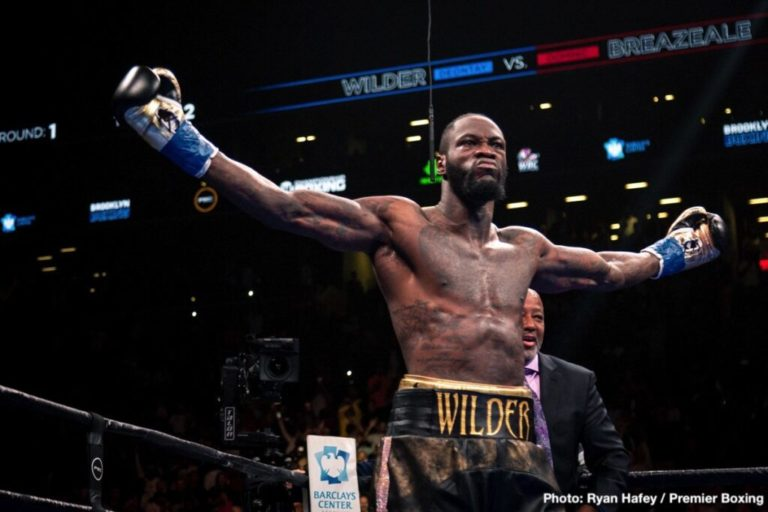 'I Am From Edo State', Deontay Wilder Confirms