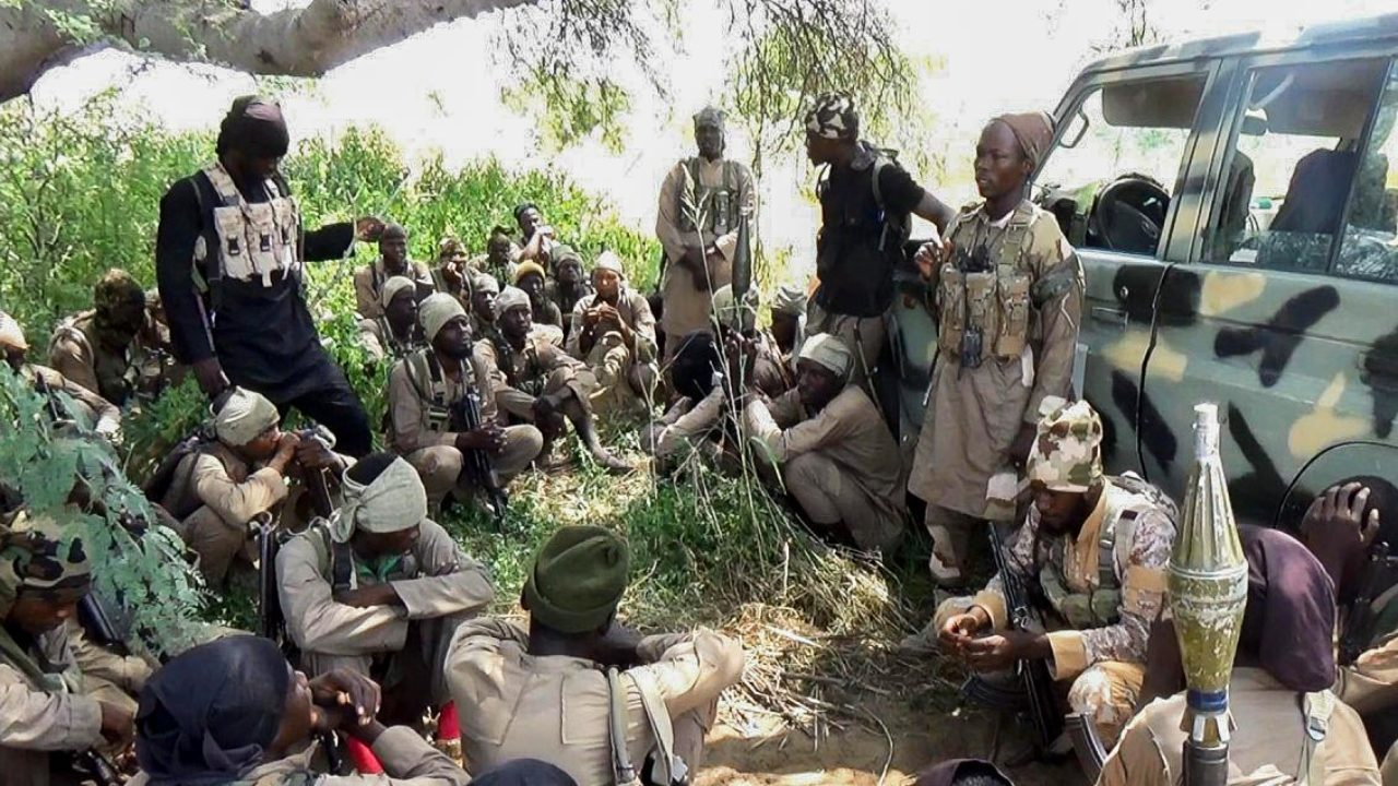 ISWAP Insurgents Set Military Base On Fire In Borno