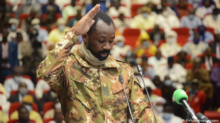 Mali's Colonel Assimi Goita Sworn In As Transitional President