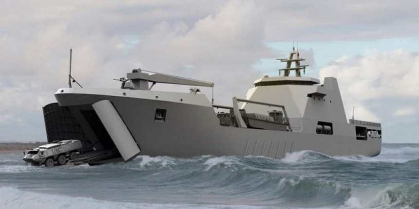Nigerian Navy Launches New Warship In UAE