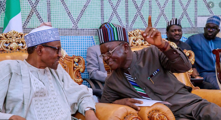 'No Grazing Routes In Benue' Ortom Fires Back At Buhari