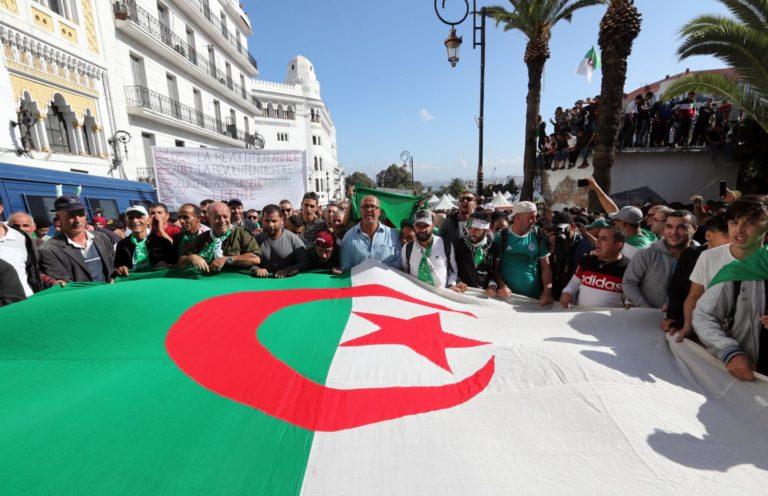 Police Seal Algeria Capital On Election Eve, Arrest Protesters