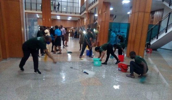 Why Leaking NASS Complex Is Yet To Be Renovated