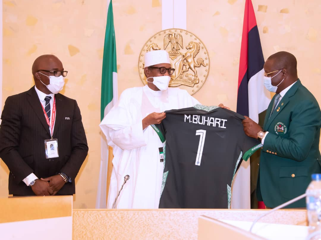 Why Pinnick's FIFA Position Is Beneficial For Nigeria - Buhari
