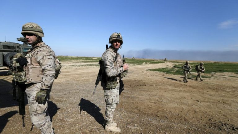 Tension As Drone Attacks Iraq Base Hosting US Troops