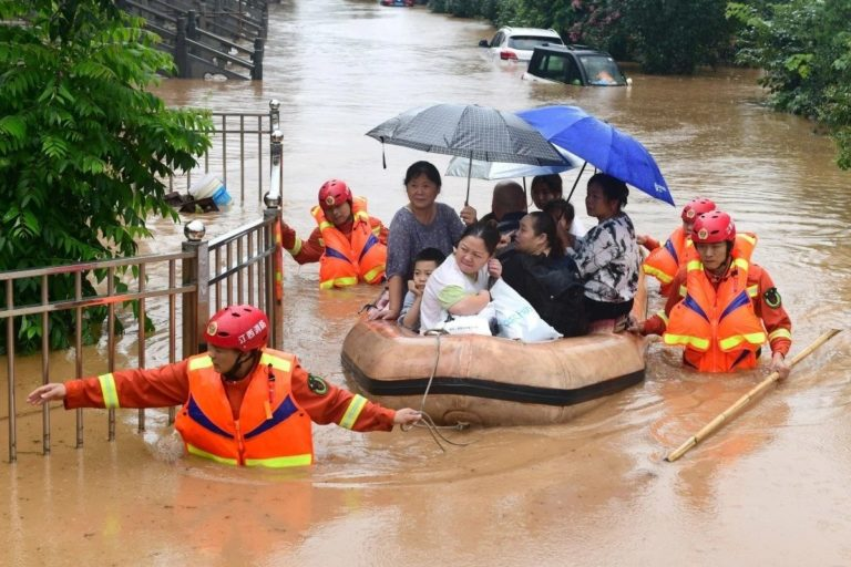 Thousands Evacuated As Deadly Floods Hit China