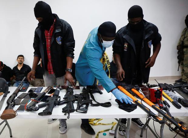 We Were Hired To Capture Haiti Leader - Colombian Mercenaries