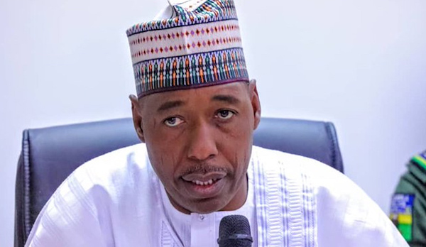Zoning 2023 Presidency To The South, Not A Must - Zulum