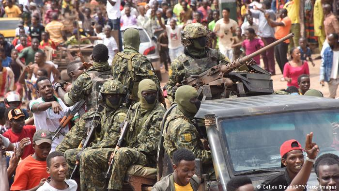 Coup Leaders In Guinea Ban Ministers From Travelling