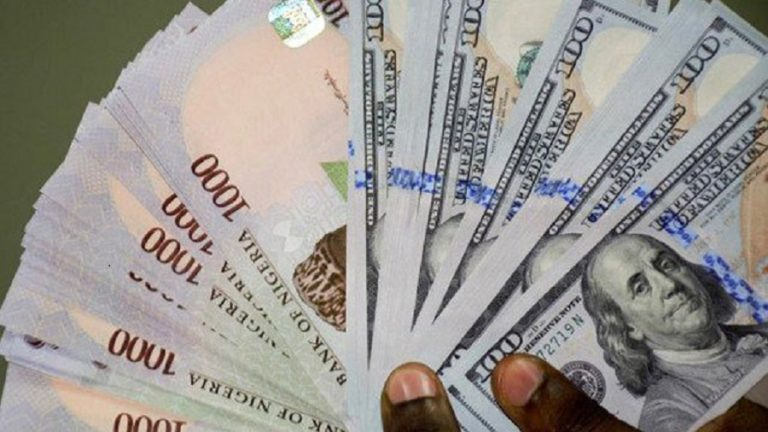 FOREX Naira Crashes Further At Parallel Market