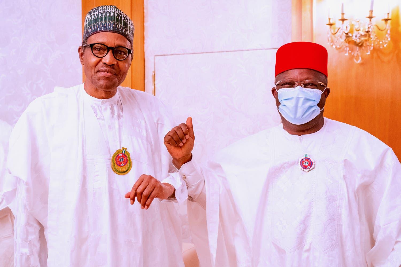 Governor Umahi's Sycophancy For Buhari And The Fulani Cabal
