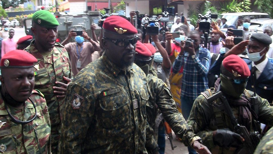 Guinea Junta Bars Its Members From Next Elections