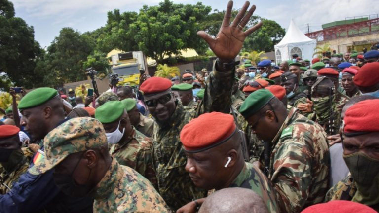 Guinea Putschists Promise To Release 'Political Detainees'