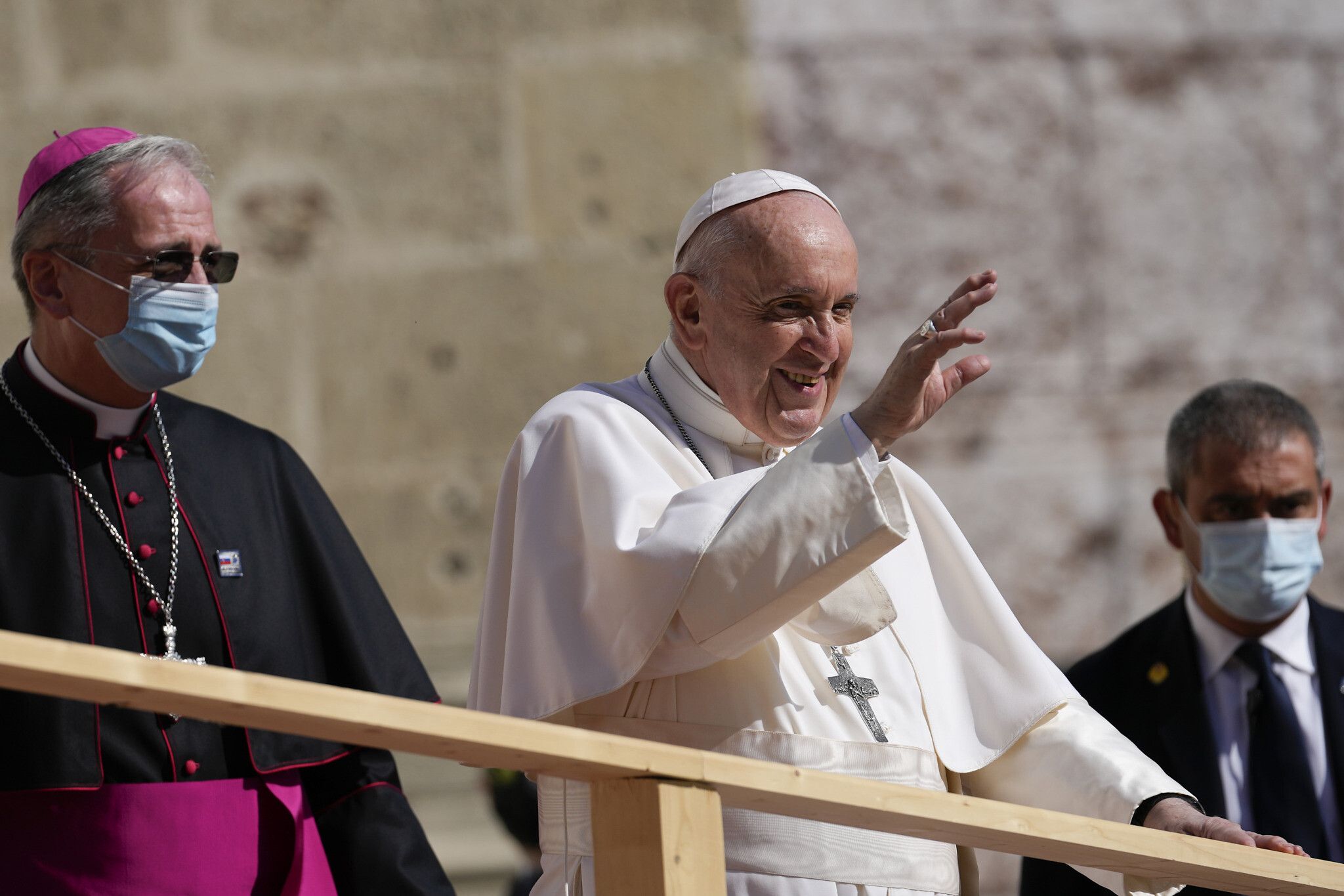 Pope Calls On Europe To Show Pandemic 'Solidarity'