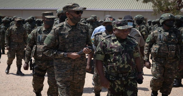Rwanda's Kagame Visits Troops In Mozambique, Confirms Mission