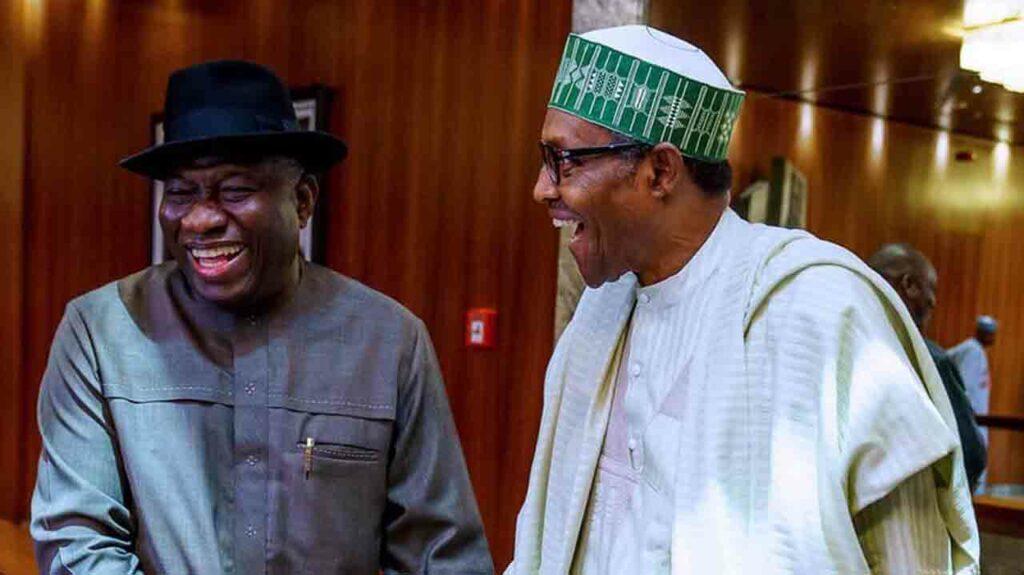 Again, Jonathan, Buhari Hold Closed-Door Meeting In Abuja