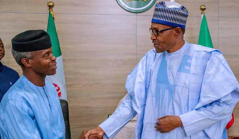 Buhari Probably Nigeria's Most Popular Politician - Osinbajo