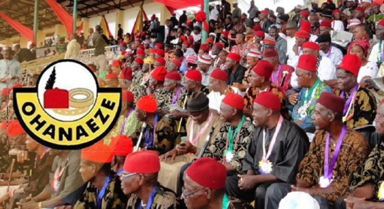 Anambra Election: Ohanaeze Ndigbo Endorses Andy Uba