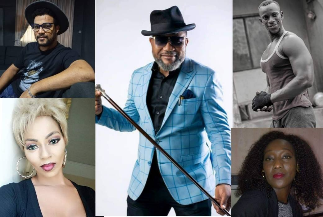 Nollywood A-List Actors In The Phenomenal 'Gang Of Looters'