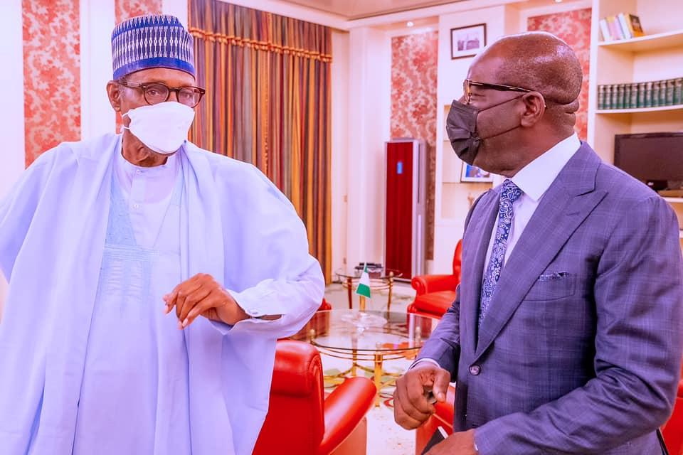 Details Of Buhari's Meeting With Gov Obaseki Emerge