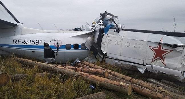16 Killed In Russian Parachutists' Plane Crash